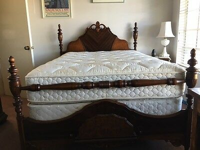 Antique Restored Full Size Bed