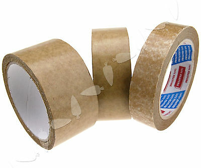 50m Length 24/38/50mm Width Picture Framing Backing Tape Brown Self-Adhesive