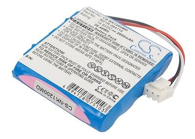NEW Battery for Nihon Kohden Edan SE-1 Edan SE-100 Edan SE-12 Express HYTB-102