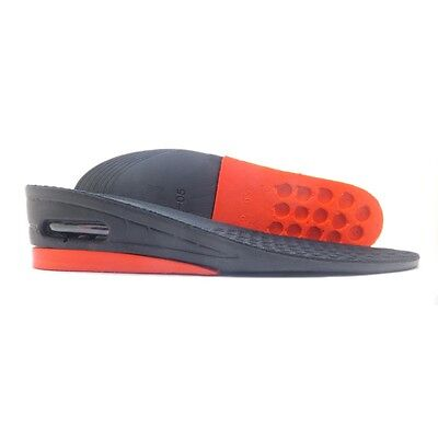 "Air Cushion 2"" Height Increasing Insoles insert Lift Shoes Pads 2 Layer Taller"