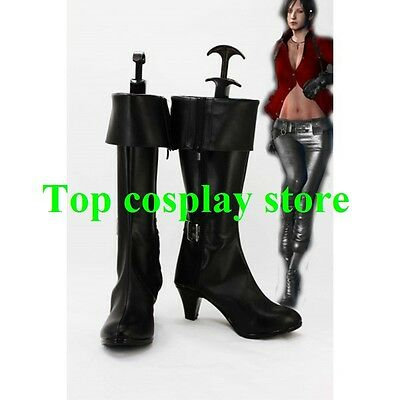 Resident Evil 6 Ada Wong Cosplay Boots shoes #RE01 shoe boot