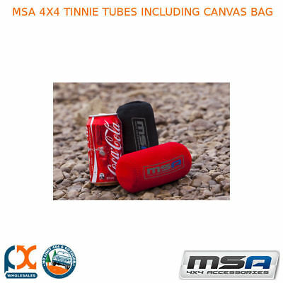 MSA 4X4 Tinnie Tubes with Canvas Bag -TTS