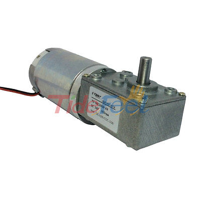 DC Electric Motor 24V 160RPM Gear Motor Reduction High Torque with Self-locking