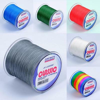 CLIO.CO 300M PE Dyneema Strong Multifilament Braided Sea Fishing Line 10LB-130LB