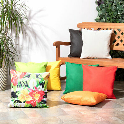 Garden Scatter Cushion Water Resistant for Outdoor Furniture Cushions Seat Bench