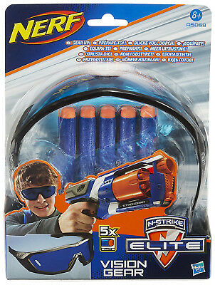 Nerf N-Strike Elite Vision Gear Brille + 5 Darts
