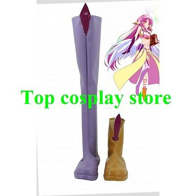 NO GAME NO LIFE Jibril Cosplay Boots shoes #NG002 shoe boot