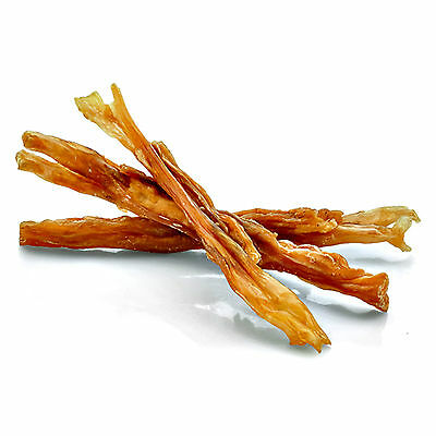 250g (5-7 Strips) Beef Tendon Natural Dog Chew Treat Cleans Teeth Hypoallergenic