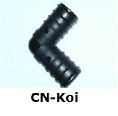 Pond Hose Fitting 90 degree bend - various sizes available