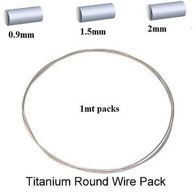 99.9% Titanium Wire-Jewelers Or Industrial Use