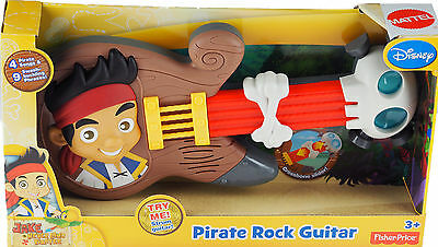 Fisher Price Jake And The Neverland Pirates Guitar Toy - With Light, Sound, Phra