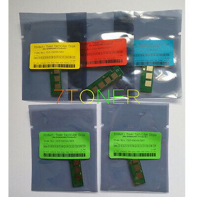 5 x Toner Reset Chips For Samsung CLP-360 CLP-365W CLX-3300 CLX-3305FW CLT-406S