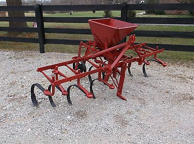 Used Ferguson Cultivator  with Covington 2 Row Sidedressor *WE SHIP FAST & CHEAP