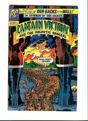 Captain Victory & The Galactic Rangers 5 . J.Kirby . Pacific . 1982. VF