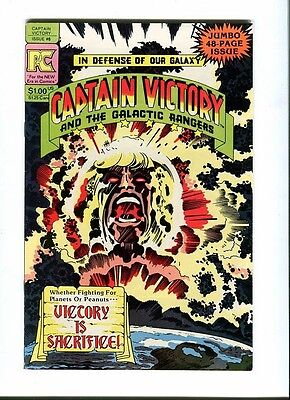Captain Victory & The Galactic Rangers 6 . Pacific Comics  1982. Kirby  VF