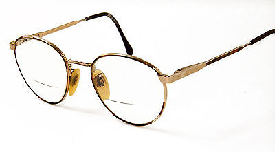 Vintage Klixx Gold Electroplated Eyeglass Frames Made In Italy