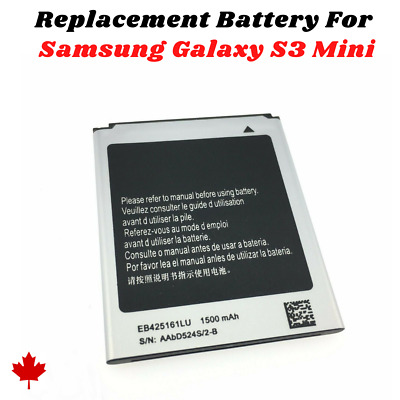 NEW Samsung Galaxy S3 MINI 2012 / Ace 2X Replacement Battery EB425161LU 1500mAh