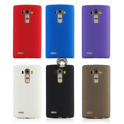 competitive price 938d1 1ec82 TPU SILICONE CASE For LG G4 H815 H810 H812 H811 LS991 Matte Soft Gel Cover  Skin