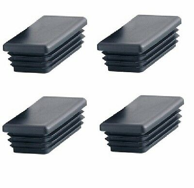"""Set of 4 Glides 1/"""" 25mm Clip on Sled Chair Glides"""