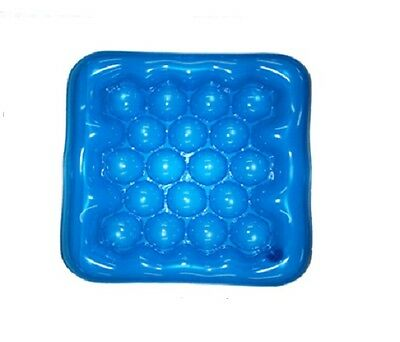 Air Water Inflatable Cushion Seat Pad for Wheelchair Office/School/Home Blue