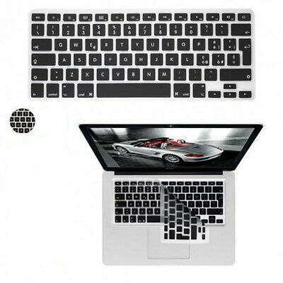 Silicon Keyboard Cover Skin Protector for Apple Macbook air/pro con lettere ITA