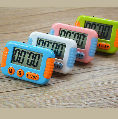 Timer Digital LCD Kitchen Cooking Alarm Large Count Down Up Loud Clock WFEU