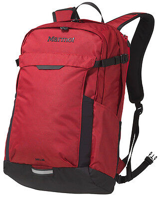 Marmot Helm 32 Litre Commuter Walking Hiking Rucksack Backpack Bag - Red