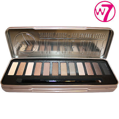 W7 In The Buff Eyeshadow Palette Tin – Nudes / Neutral Shades – Brand New!