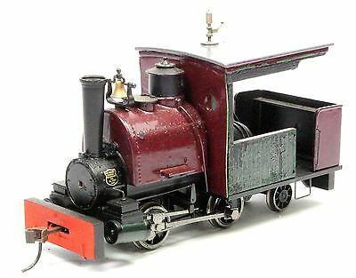 On30 SCALE SCRATCH BUILT MAROON 0-4-2T SADDLE TANK STEAM LOCO 4U