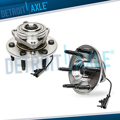 2 Front Wheel Bearing Hub Assembly Chevy Silverado 1500 Escalade Yukon Tahoe 4x4
