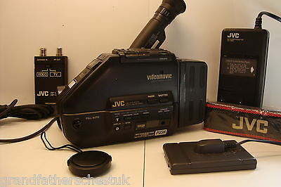 Jvc Compact Video Movie Camera Accesories Charger Transformer Leads Rf Unit