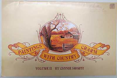 Painting With Country Charm Vol. 2 Connie Shortt Painting Patterns 1983