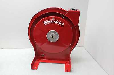 """Reelcraft 5650 OLP Spring Retractable Hose Reel w/ 3/8"""" Air/Water 24 ft. Hose"""