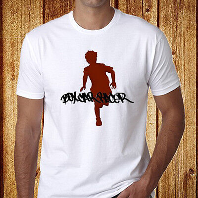New Box Car Racer Hard Rock Band Men's White T-Shirt Size S-3XL Free Shipping