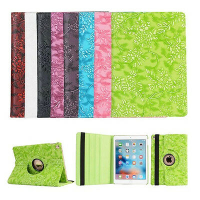 Rotating Leather Case Smart Cover Skin For Apple IPad 2/3/4 air1/2 Mini1234 Pro