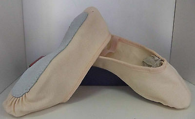 Canvas Full Sole Ballet Shoe Size 13.5 Child NEW