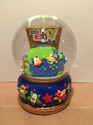 eBay Snow Globe Original Logo eBayana Limited Edition 2003 power seller 1524