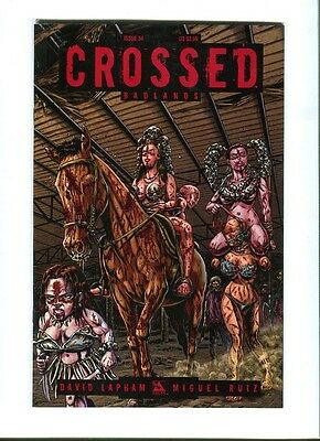 Crossed   Badlands 34 .  Avatar  Press - 2013 -  FN / VF