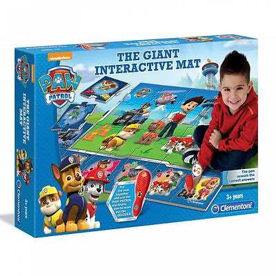 New Paw Patrol The Giant Interactive Mat Jigsaw Puzzle