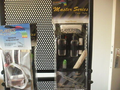 PLAYERS MASTER SERIES CARE KIT MS-WC Kit entretien clarinette ebene- wood - NEW