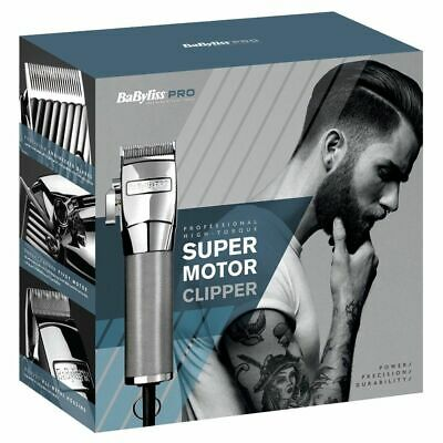 BaByliss PRO Super Motor Professional Clipper Hair Cut Trim Barber