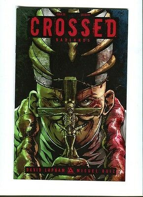 Crossed   Badlands 35 .  Avatar  Press - 2013 - VF