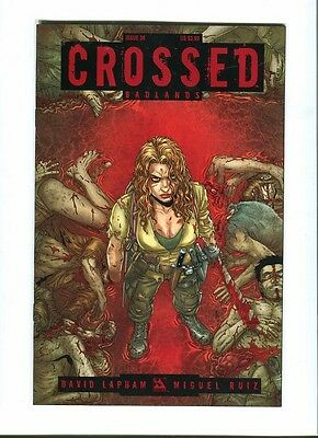 Crossed   Badlands 36 .  Avatar  Press - 2013 - VF