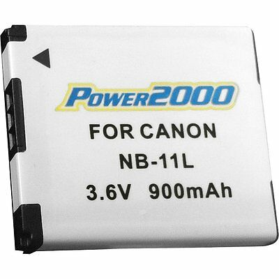 Power2000 NB11L NB-11L Battery for Canon ELPH 140 IS, 150 IS, 360 HS, 350 HS