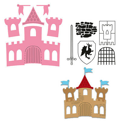 Marianne Design COLLECTABLES Cutting Die Cuts Felt - CASTLE COL1404