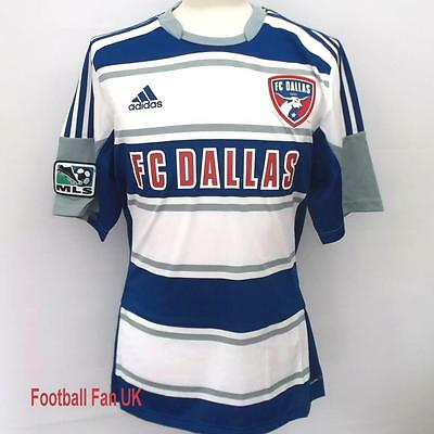 FC DALLAS Adidas Away Shirt 2012/13 S,M,L,XL Camiseta De Fútbol MLS 12/13 Juego