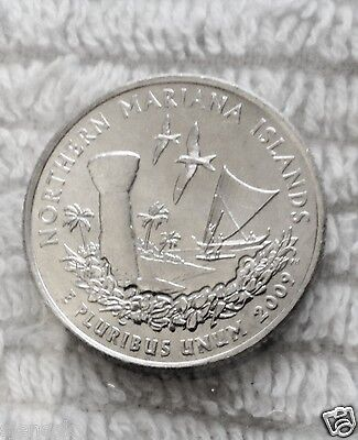 2009 P And D Mariana Islands UNCIRCULATED 2-Coin Quarter Set From US Mint
