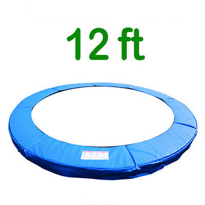 Trampoline Replacement Pad Safety Padding Spring Cover 12ft Blue