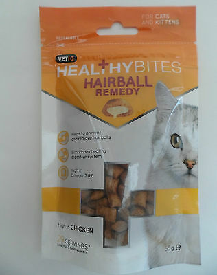 VETIQ Healthy Bites Cat Treats Hairball Remedy