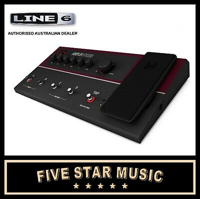 LINE 6 AMPLIFi FX100 MULTI EFFECTS PEDAL AMP MODELLING ANDROID & iOS COMPATIBLE